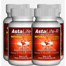 Asta Life. Anti-ageing supplement. 4 x 60 capsules.