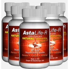 Asta Life. Anti-ageing supplement. 5 x 60 capsules.