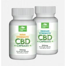 CBD Oil Capsules Medium and High Strength