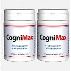 CogniMax. For Brain Health + 1 month free. 2 x 60 tablets