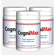 CogniMax. For Brain Health + 2 months free. 3 x 60 tablets