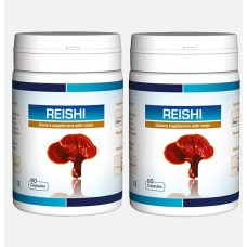 Reishi Extract. For Brain health. 2 x 60 capsules