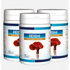 Reishi Extract. For brain health. 3 x 60 capsules